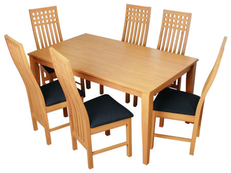 Dining table and 6 chairs cheap table and chairs for Cheap dinner table and chairs